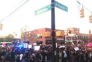 Chapel Hill Protest