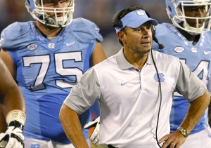 Coach Larry Fedora